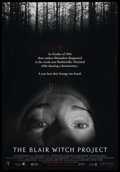 """Movie Posters:Horror, The Blair Witch Project Lot (Odeon Films, 1999). One Sheet and Advance One Sheet (27"""" X 40"""") DS (both). Horror. ... (Total: 2 Items)"""