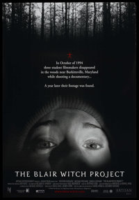 """The Blair Witch Project Lot (Odeon Films, 1999). One Sheet and Advance One Sheet (27"""" X 40"""") DS (both). Horror..."""