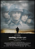 "Movie Posters:War, Saving Private Ryan (Paramount, 1998). One Sheet (27"" X 40""). DS.War. ..."