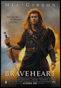 "Movie Posters:Action, Braveheart (Paramount, 1995). Advance One Sheet (27"" X 40"") SS.Action. ..."