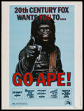 "Movie Posters:Science Fiction, Go Ape! (20th Century Fox, 1974). Planet of the Apes Film FestivalPoster (30"" X 40""). Science Fiction...."