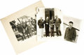"""Photography:Official Photos, Lot of Three Photographs Featuring Will Rogers and Wiley Post. Thephoto of Post (10"""" x 8"""") shows him standing by his plane,...(Total: 3 Item)"""