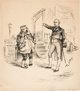 "Thomas Nast ""Tammany Hall"" Editorial Cartoon Original Art (Harper's Weekly, 1886)"