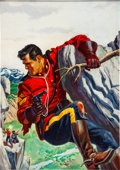Original Comic Art:Covers, King of the Royal Mounted #11 Cover Original Art (Dell, 1953)....