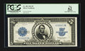 Large Size:Silver Certificates, Fr. 282 $5 1923 Silver Certificate PCGS Apparent New 62.. ...