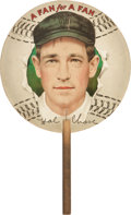 "Baseball Cards:Singles (Pre-1930), 1910 Hal Chase ""Fan for a Fan."" ..."