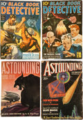 Pulps:Science Fiction, Astounding Stories/Black Book Detective Box Lot (Street &Smith/Thrilling, 1932-48) Condition: Average GD/VG....