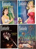 Pulps:Science Fiction, Assorted Science Fiction Pulps Group (Various, 1932-55) Condition:Average VG-....