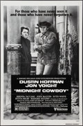 "Movie Posters:Academy Award Winners, Midnight Cowboy (United Artists, R-1980 & 1969). One Sheet (27""X 41"") & Lobby Card Set of 8 (11"" X 14""). Academy Award Winn...(Total: 9 Items)"