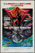 """Movie Posters:James Bond, The Spy Who Loved Me (United Artists, 1977). One Sheet (27"""" X 41""""), Uncut Pressbook (11"""" X 17""""), and Program (9"""" X 12""""). Jam... (Total: 3 Items)"""