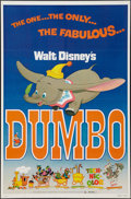 """Movie Posters:Animation, Dumbo & Other Lot (Buena Vista, R-1976). One Sheet (27"""" X 41"""")& Poster (30"""" X 40""""). Animation.. ... (Total: 2 Items)"""