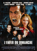 "Movie Posters:Sports, Any Given Sunday (Warner Brothers, 1999). French Grande (45"" X 62""). Sports.. ..."