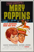 """Movie Posters:Fantasy, Mary Poppins (Buena Vista, R-1980 & R-1973). One Sheet (27"""" X41"""") & Lobby Card Set of 9 (11"""" X 14"""") Style A. Fantasy.. ...(Total: 10 Items)"""