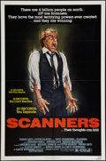 "Movie Posters:Horror, Scanners (Avco Embassy, 1981). One Sheet (27"" X 41"") & Lobby Card Set of 8 (11"" X 14""). Horror.. ... (Total: 9 Items)"