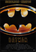 "Movie Posters:Action, Batman (Warner Brothers, 1989). One Sheets (2) (27"" X 40"") Regular& Advance. Action.. ... (Total: 2 Items)"