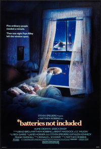 "Batteries Not Included (Universal, 1987). One Sheet (27"" X 40""). Fantasy"