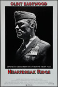 "Movie Posters:War, Heartbreak Ridge (Warner Brothers, 1986). One Sheet (27"" X 40.5"")Advance. War.. ..."