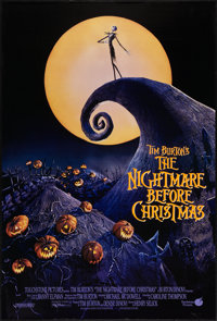 """The Nightmare Before Christmas (Touchstone, 1993). One Sheet (27"""" X 40"""") SS. Animation"""