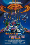 "Movie Posters:Animation, Transformers: The Movie (DEG, 1986). One Sheet (27"" X 41"").Animation.. ..."