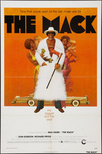 "The Mack (Cinerama Releasing, 1973). One Sheet (27"" X 41""). Blaxploitation"