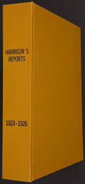 "Movie Posters, Harrison's Reports 1923-1926 (Hollywood Film Archive, R-1990s).Hardbound Book (Multiple Pages, 9"" X 11.5""). Miscellaneous...."