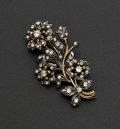 Estate Jewelry:Brooches - Pins, Mallorca Floral Spray Brooch. ...