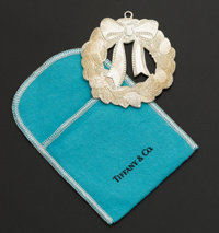 Tiffany & Co. Sterling Silver Christmas Ornament