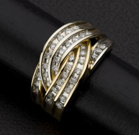 Diamond & Gold Ring