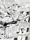 Original Comic Art:Splash Pages, Don Perlin and Frank Giacoia Marvel Team-Up #78 Spider-ManSplash Page 1 Original Art (Marvel, 1979)....