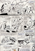 Original Comic Art:Panel Pages, Werner Roth and Dick Ayers X-Men #24 Page 19 Original Art(Marvel, 1966)....