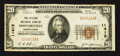 National Bank Notes:Pennsylvania, Hooversville, PA - $20 1929 Ty. 1 The Citizens NB Ch. # 11413. ...