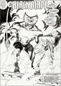 Original Comic Art:Splash Pages, John Buscema and Al Williamson Wolverine #3 Splash Page 1Original Art (Marvel, 1989)....