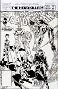 Original Comic Art:Covers, Mark Bagley and Randy Emberlin The Amazing Spider-Man Annual#26 Cover Original Art (Marvel, 1992)....