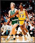 Basketball Collectibles:Photos, Magic Johnson Signed Oversized Photograph. ...