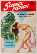 Books:Pulps, [Pulp]. Donald Wollheim [editor]. Avon Science-Fiction Reader. No. 3. Avon, 1952. First edition, first printing. Dig...