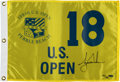 "Autographs:Others, Tiger Woods Signed ""Upper Deck Authenticated"" Flag. ..."