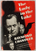 Books:Mystery & Detective Fiction, Raymond Chandler. INSCRIBED BY ROBERT MONTGOMERY. The Lady inthe Lake. Grosset & Dunlap, ca. 1943. Photoplay ed...