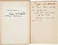 Autographs:U.S. Presidents, Theodore Roosevelt Signed Book:...