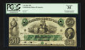 Confederate Notes:1861 Issues, T6 $50 1861 PF-1 Cr. 6.. ...
