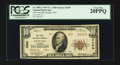 National Bank Notes:Wyoming, Buffalo, WY - $10 1929 Ty. 2 The First NB Ch. # 3299. ...