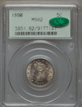 Liberty Nickels: , 1890 5C MS62 PCGS. CAC. PCGS Population (34/311). NGC Census:(30/231). Mintage: 16,259,272. Numismedia Wsl. Price for prob...