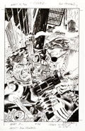 Original Comic Art:Covers, Bill Reinhold What If? (The Punisher vs. Nick Fury)Unpublished #88 Cover Original Art (Marvel, 1996)....