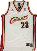 Basketball Collectibles:Uniforms, LeBron James Singed Cleveland Cavaliers Jersey. ...