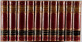 Books:Fine Bindings & Library Sets, [Fine Binding]. Nathaniel Hawthorne. Works. 10 volumes of 12issued. Houghton, Mifflin, 1881. Illustrated library ed... (Total:10 Items)