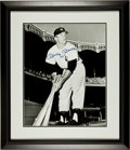"Baseball Collectibles:Photos, Mickey Mantle Signed Oversized Photograph Display ""No. 7""...."