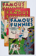 Golden Age (1938-1955):Miscellaneous, Famous Funnies Group (Eastern Color, 1948-49) Condition: Average FN-.... (Total: 12 Comic Books)