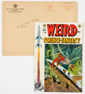 Golden Age (1938-1955):Science Fiction, Weird Science-Fantasy #23 Subscription Copy with Original MailingEnvelope (EC, 1954) Condition: VF-....