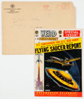 Golden Age (1938-1955):Science Fiction, Weird Science-Fantasy #26 Subscription Copy with Original MailingEnvelope (EC, 1954) Condition: FN....