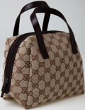 Luxury Accessories:Bags, Heritage Vintage: Gucci Monogram Canvas Small Tote Bag. ...