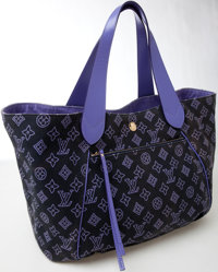 Heritage Vintage: Louis Vuitton Canvas and Leather Monogram Ipanema GM Tote